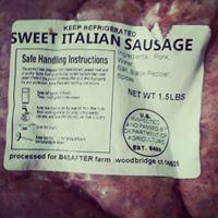 Sweet Italian Sausage Links